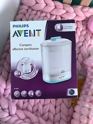 Philips AVENT 2-in-1 Electric Steam Steriliser NEW in Box