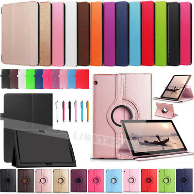 """For Huawei MediaPad T3 10 9.6""""AGS-W09/L09/L03 Flip Leather Case Cover Stand +Pen"""