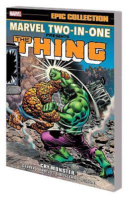 Marvel Two In One Epic Collection TP Cry Monster MARVEL COMICS