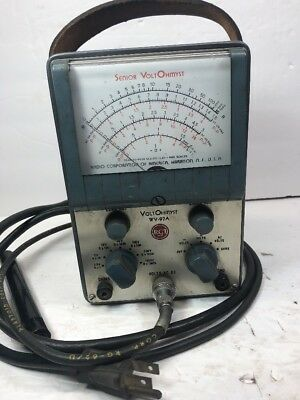 VoltOhmyst RCA OHM METER WV-97A