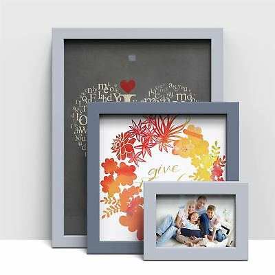 A1 A2 A3 A4 A5 Solid Wood Picture Photo Frame Maxi Poster Frame Light Dark Grey