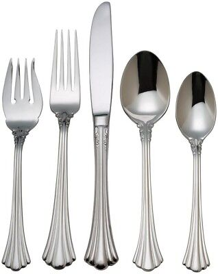 Reed & Barton Flatware Set - 5 Pc Place Setting - 1800 - Luxury Series