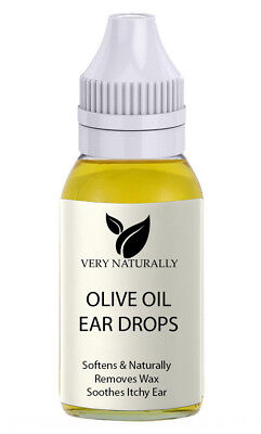 Ear Wax Remover Olive Oil Free Delivery Natural Medical Grade 30 ml
