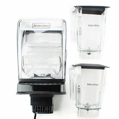 Blendtec Commercial Stealth 885 In Counter Blender - With Two WildSide Jars & So