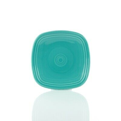 Fiesta Square Salad Plate - Turquoise