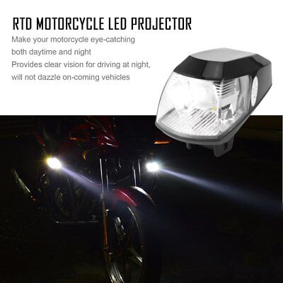 RTD Motorcycle LED Projector with USB 20W 6000K for Motorcycle Headlight Lamp