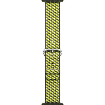 Genuine Apple 38mm Watch Woven Nylon Band - Dark Olive - VG In Box