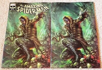 AMAZING SPIDER-MAN 2 LGY 803 LUCIO PARRILLO VIRGIN NEW VILLAIN VARIANT SET 1st