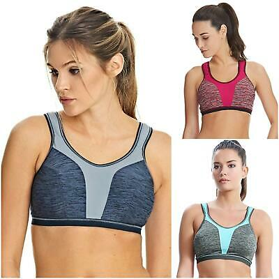 Freya Active Force Crop Top 4000 High Impact Soft Cup Non-Wired Sports Bra 686da50050a