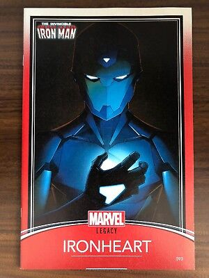 Invincible Iron Man #593 (vol. 1) IRONHEART VARIANT RIRI WILLIAMS Marvel VF/NM