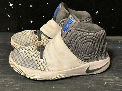 NIKE KYRIE IRVING 2 Shoes , BOYS\u0027 TODDLER Wolf Gray Athletic Size , 9C