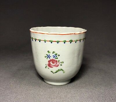 18th Century Chinese Export Porcelain Tea Cup