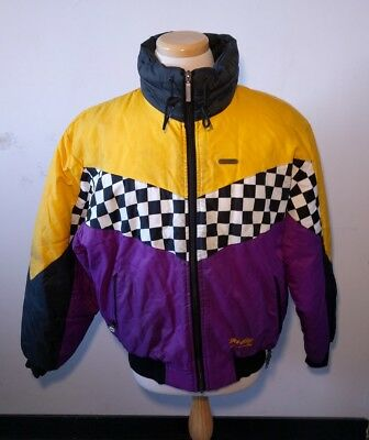 Vintage Team Skidoo Bombardier Racing Jacket Men's 90's Snowmobile Coat