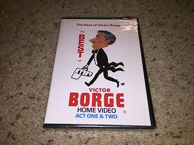 The Best of Victor Borge - Act One and Two (DVD, 2002) *OOP/RARE!* *NEW/SEALED!*
