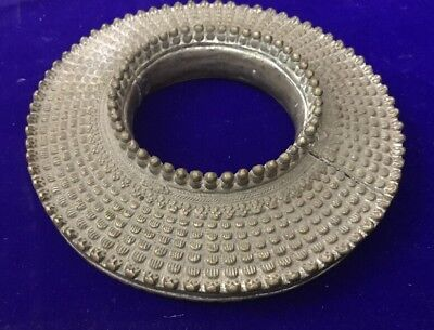Antique Large African Arabian Omani Slave Anklet Ankle Bangle Manilla Dish