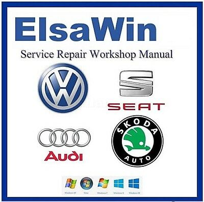 ElsaWin5 - Repair Manual Program - Audi - VW - Seat - Skoda - Diagram Software