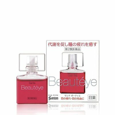 Santen Sante BeautEye Eye Drop 12ml Japan Import F/S