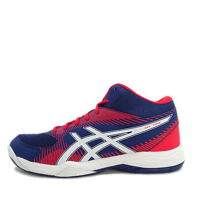 ASICS GEL TASK Blanc Bleu ICE Bleu Blanc Volleyball Chaussures indoor sport Trainers ab58fe