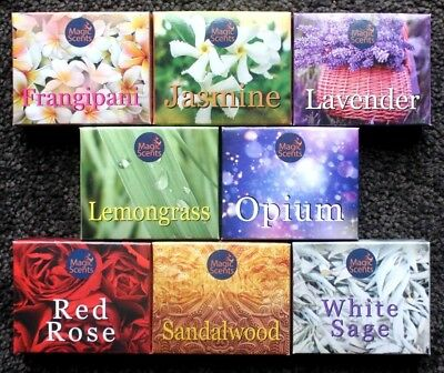 12 / 24 / 96pc  Incense Cones CHOOSE SCENT Bulk Asra Insence Sticks Mixed Floral
