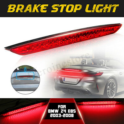 Fits for 2003-2008 BMW E85 Z4 Third Brake Stop Light - Red Color Rear 3RD Lamp