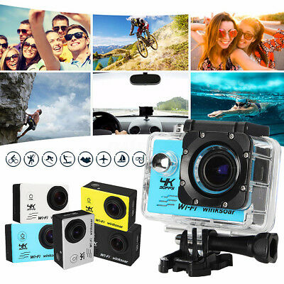SJ9000 4K Ultra HD 1080P WiFi Action Sports Camera DV Waterproof w/Remote AU