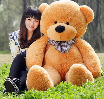 Large 80/100/120/140cm Teddy Bear Giant Teddy Bears Big Soft Plush Toys Kids