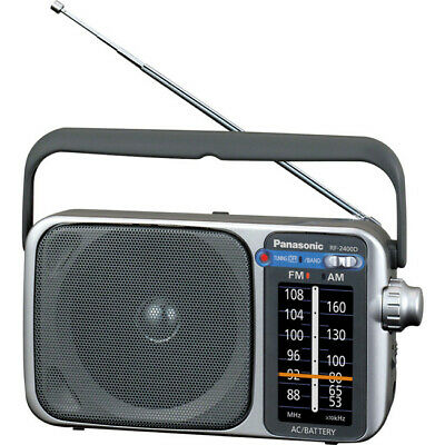 RF2400D PANASONIC AM/ FM Portable Radio Ac/ DC Panasonic