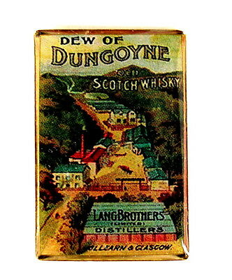 WHISKY / WHISKEY Pin / Pins - DEW OF DUNGOYNE SCOTCH WHISKY
