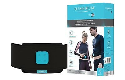 SLENDERTONE ABS8 UNISEX -NEW Abdominal Toning Belt- Li-ion Rechargeable RRP £140