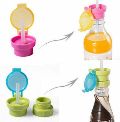 NEW Baby Cup Double Handle Children Plastic Straw Bottle Sippy Cup Infant ZO
