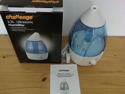 CHALLENGE 3.2 LITRE Ultrasonic Humidifier Model HTJ 2027