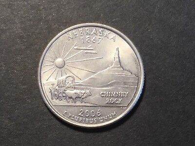 2006 US coin. State Quarter. Nebraska.