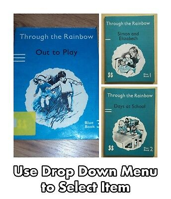 Through the Rainbow: Days At School - Vintage Schools Books For Children