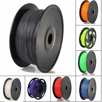 1.75MM Roll 3D Printer Filament PLA 1Kg Various Colours Available UK Stock