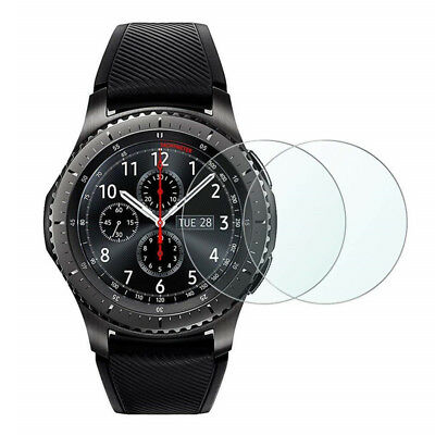 2pcs 9H Tempered Glass Screen Protector for Samsung Gear S3/ S3 Classic Frontier