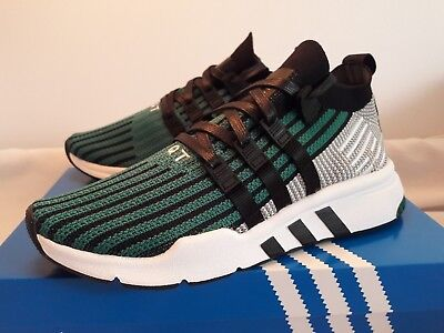 the best attitude 4e54e 97b1f Adidas Originals EQT Support Mid ADV PK Primeknit Sub Green CQ2998 Size 8