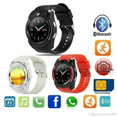 Bluetooth Smart Watch Waterproof Fitness Tracker Sport Fitbit For iPhone Samsung