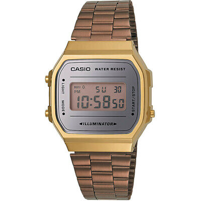 Orologio Casio Collection Vintage Metal Gold A168WECM-5EF