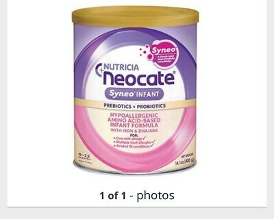 4 Cans Of Neocate Syneo 12oz Exp 5/19