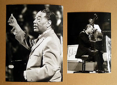 DUKE ELLINGTON * 2 PRESSEFOTOS div. Grössen PHOTOS 1970er JAZZ MUSIK