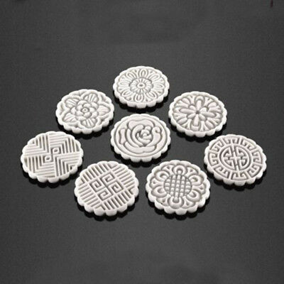 75/125G Mooncake Mold + 8 Flower Stamps DIY Baking Pastry Moon Cake Mould Tool