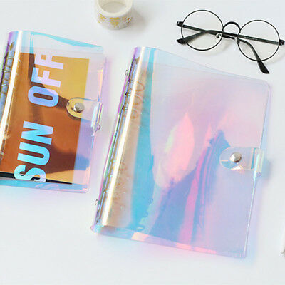 A5/A6/A7 Binder Notebook Loose Leaf Ring Weekly Diary Cover Dust proof 0.8mm