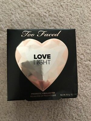 Too Faced LOVE LIGHT Prismatic HIGHLIGHTER Color: Blinded By The Light