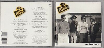The Jacksons - 2300 Jackson Street (CD, May-1989, Epic) EARLY DADC PRESS