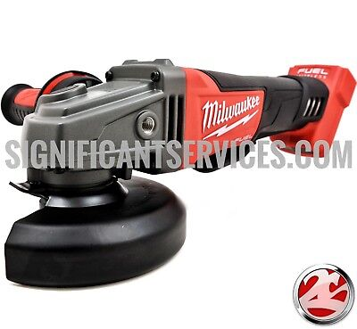 "New Milwaukee 2780-20 M18 18V FUEL™ 4-1/2"" / 5"" Grinder, Paddle Switch No-Lock"