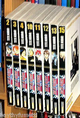 Bleach Gold 2, 3, 4, 10, 11, 12, 13, 15