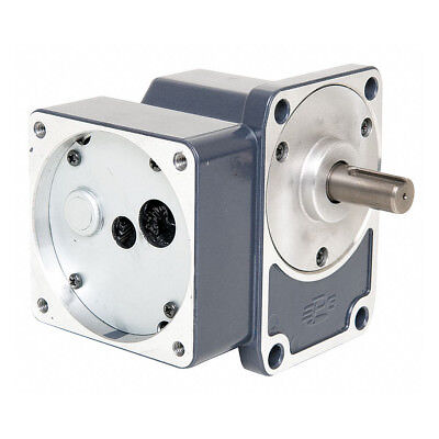 Right Angle Gear Box Speed Reducer | 100:1 Ratio | Continuous Duty | Reversible