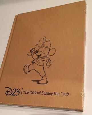 Disney D23 2011 Mickey Band Leader Journal Notebook Mint Sealed In Plastic