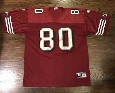 New RARE VINTAGE 90'S Jerry Rice San Francisco 49ers Apex Football