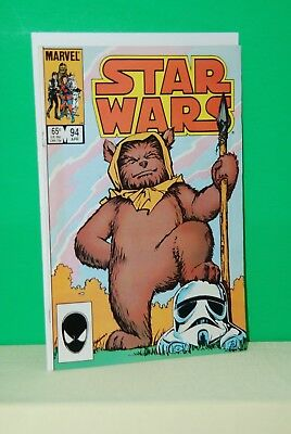 STAR WARS #94  Ewok cover, Direct, Marvel Comics 1985